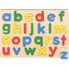 Little Moppet: Alphabet Chunky Wooden Puzzle -