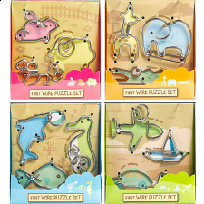 First Wire Puzzles - Set of 4 -