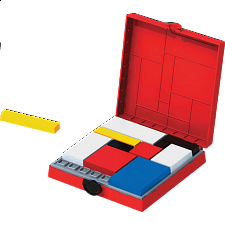 Mondrian Blocks - RED Edition -