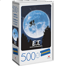 Blockbuster Movie Poster Puzzle - E.T. The Extra-Terrestrial -