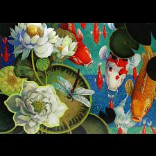 Koi Pond - David Galchutt -