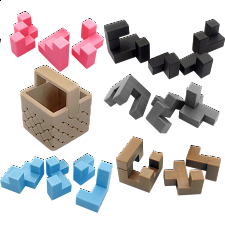 Easy Set - Akaki's Picnic Basket Puzzles -