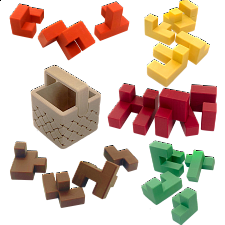 Hard Set - Akaki's Picnic Basket Puzzles -