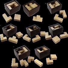 Raya Box Series - Set of 8 Packing Puzzles -