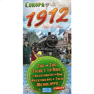 Ticket to Ride: Europa 1912 (Expansion)