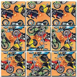Scramble Squares - Classic Motorcycles