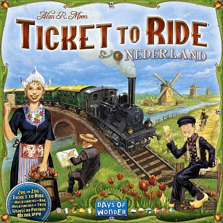 Ticket to Ride: Nederland (Expansion)