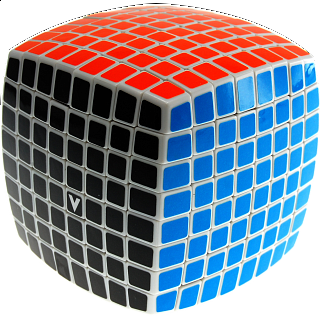 V-CUBE 8 (8x8x8): White