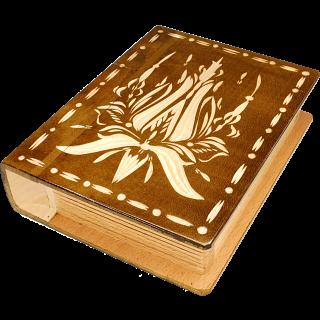 Romanian Secret Book Box - Brown