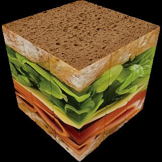 V-CUBE 3 Flat (3x3x3): Sandwich
