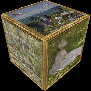 V-CUBE 3 Flat (3x3x3): Monet