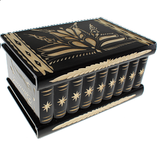 Romanian Puzzle Box - Extra Large Black