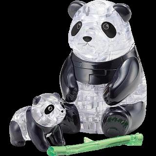 3D Crystal Puzzle - Panda & Baby