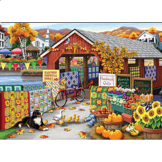 Harvest Festival - Large Piece
