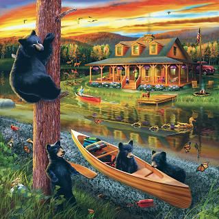25 Bear Family Adventure