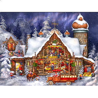 Santa's Barn