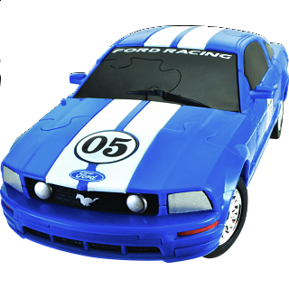 3D Puzzle Car - Ford Mustang FR500C