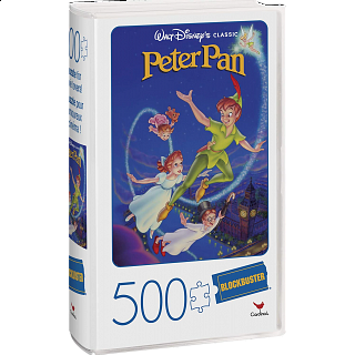 Blockbuster Movie Poster Puzzle - Peter Pan