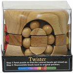 Twister - Brain Teaser - Wood Puzzle