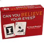Can You Believe Your Eyes Playing Cards