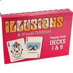 Optical Illusions & Visual Oddities Playing Cards - Decks I & II