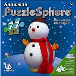 Snowman Puzzle Sphere
