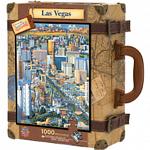 Collector Suitcase Jigsaw - Las Vegas