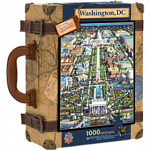 Collector Suitcase Jigsaw - Washington, DC