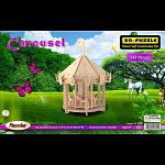 Carousel - 3D Wooden Puzzle