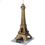 Eiffel Tower - 3D Jigsaw Puzzle