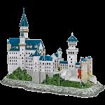 Neuschwanstein Castle - 3D Jigsaw Puzzle