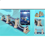 London Tower Bridge - 3D Jigsaw Puzzles