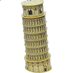 Leaning Tower - 3D Jigsaw Puzzle