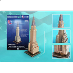 Chrysler Building - 3D Jigsaw Puzzle