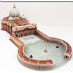 St. Peter's Basilica - 3D Jigsaw Puzzle