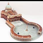 St. Peter's Basilica - 3D Jigsaw Puzzle