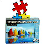 World's Smallest Jigsaw Puzzle - Into the Wind