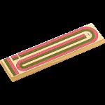 Color 2 Track Cribbage Board