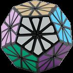 Pyraminx Crystal with Black Body