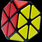 Tiled Tetraminx - Black Body
