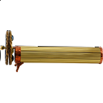 Kaleidoscope: Medium Brass - Reeded