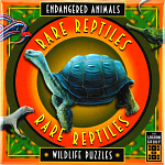 Rare Reptiles - Endangered Animals - Wildlife Puzzles