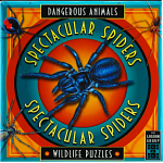 Spectacular Spiders - Dangerous Animals - Wildlife Puzzles