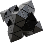 Corner Turning Octahedron DIY - Black Body