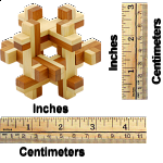Bamboo Wood Puzzle 1