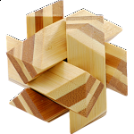 Bamboo Wood Puzzle 3