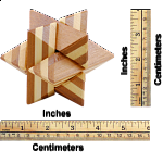 Bamboo Wood Puzzle 9