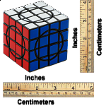 Crazy 4x4x4 II - Black Body/Tile