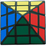 3 Layers - 6-Axis Octahedron - Black Body