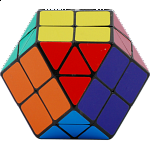Rainbow Cube - 14 color Black Body